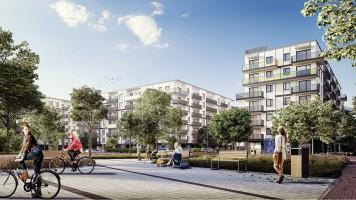 zdjęcie z budowy Port Żerań