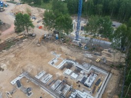 zdjęcie z budowy Nowy Janów