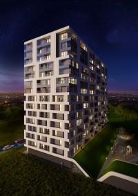 zdjęcie z budowy Mogilska Tower