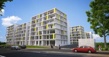 zdjęcie z budowy Polan Apartamenty