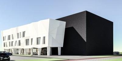 zdjęcie z budowy Dzielnicowy ośrodek kultury