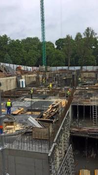 zdjęcie z budowy Unia Art Residence