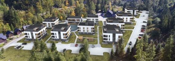 zdjęcie z budowy Wisełka Apartamenty i SPA