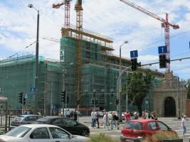 zdjęcie z budowy Posejdon Center