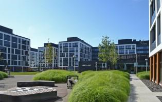zdjęcie z budowy Business Garden Wrocław Etap 2
