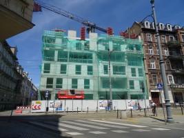 zdjęcie z budowy Apartamentowiec Za Bramką