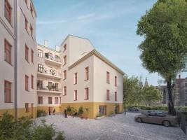 zdjęcie z przebudowy Dresdner Bank