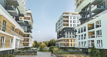 zdjęcie z budowy Osiedle Nowa Dąbrowa