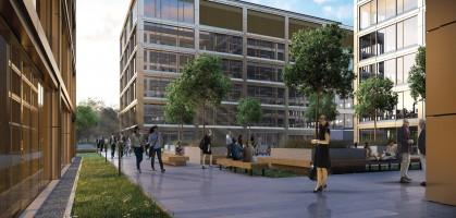 zdjęcie z budowy TEN Office