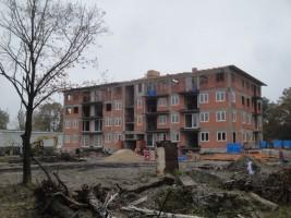 zdjęcie z budowy Kasztanowa