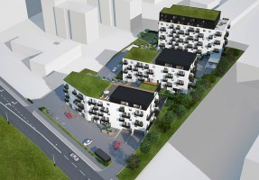 zdjęcie z budowy Zielony Marcelin