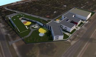 zdjęcie z budowy Zespół szkolno-przedszkolny