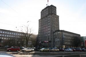 zdjęcie Wieżowca Centrali Tekstylnej