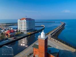 zdjęcie z budowy Marina Royale