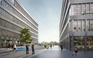 zdjęcie z budowy Biurowce Imagine