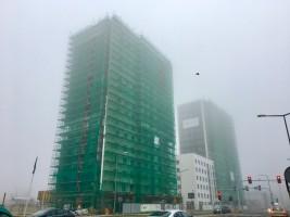 zdjęcie z budowy Osiedle mieszkaniowe Bułgarska 59