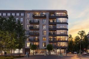 zdjęcie z budowy Apartamentowiec Plac Kaszubski