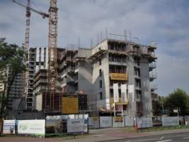 zdjęcie z budowy Wólczyńska AH