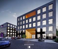 zdjęcie z budowy Business Park Żory