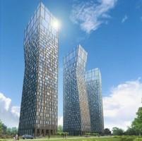 wizualizacje Przy Spodku Towers