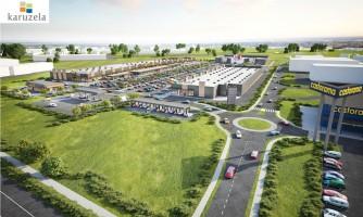 zdjęcie z budowy Park Handlowy Karuzela