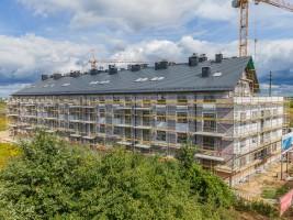 zdjęcie z budowy Wojszyckie Alejki