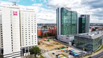 zdjęcie z budowy Andersia Silver Tower