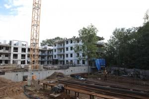 zdjęcie z budowy Olimpia Port