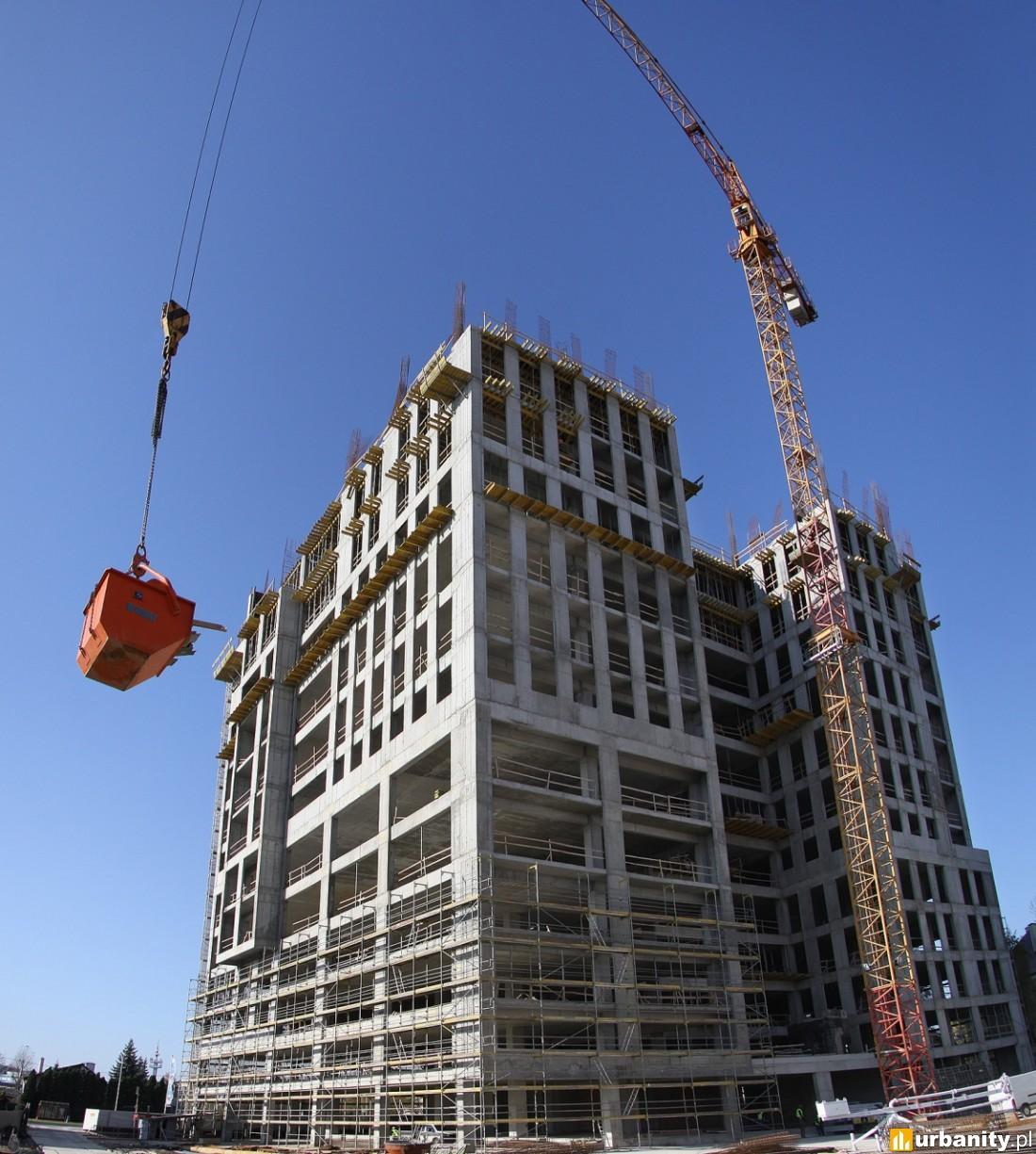12 piętro w budowie