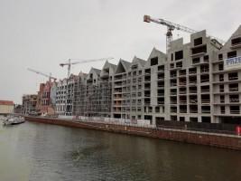 zdjęcie z budowy Deo Plaza Wyspa Spichrzów