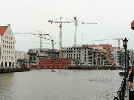 zdjęcie z budowy Granaria