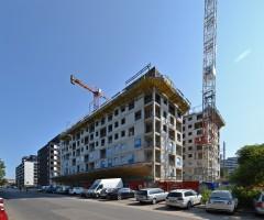 zdjęcie z budowy Nowe Centrum Południowe III