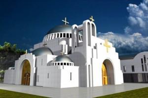 zdjęcie z budowy Cerkiew
