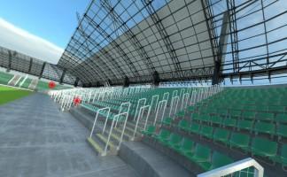 wizualizacje Stadion