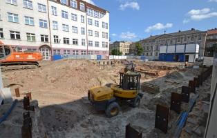 zdjęcie z budowy Blok sportowy wraz z salą do szermierki