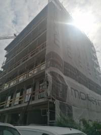 zdjęcie z budowy Moderna Powiśle