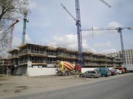 zdjęcie z budowy Nowe Odolany