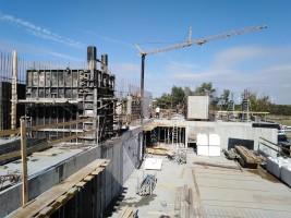 zdjęcie z budowy Nautic Park