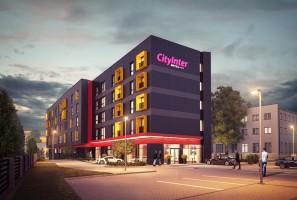 zdjęcie z budowy CityInter Hotel