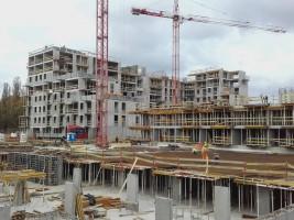 zdjęcie z budowy Osiedle Na Woli