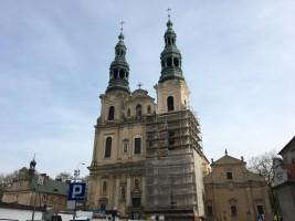 zdjęcie z przebudowy Kościół św. Franciszka Serafickiego - franciszkanów - bernardynów