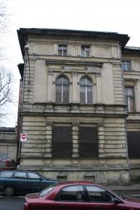 zdjęcie z przebudowy Willa Ludwika Meyera