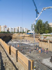 zdjęcie z budowy Biały Dom