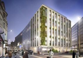 zdjęcie z budowy Mercure Katowice City Center