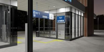 zdjęcie z budowy Dworzec kolejowy PKP Rogów