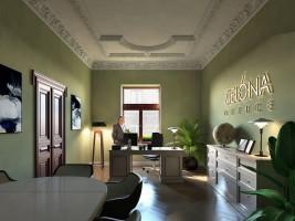 zdjęcie z przebudowy Zielona Green Office
