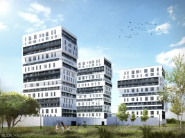 zdjęcie z budowy Witolda Park