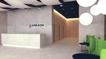 zdjęcie z budowy Arkada Business Park