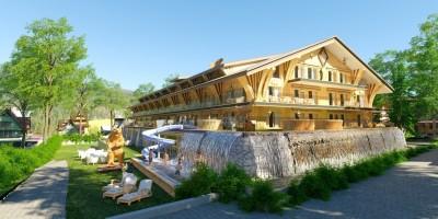 zdjęcie z przebudowy Hotel Mountain Diamond