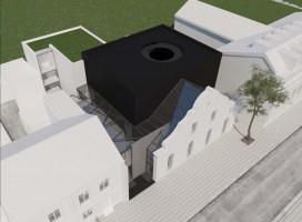 zdjęcie z przebudowy Teatr KTO